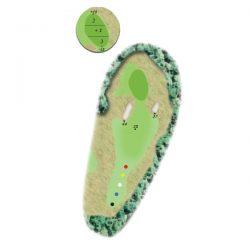 Sage Run: Hole 17 (par 3)