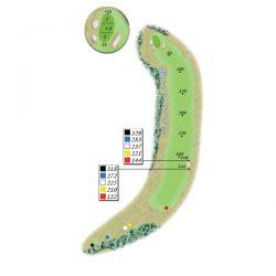 Sage Run: Hole 18 (par 5)